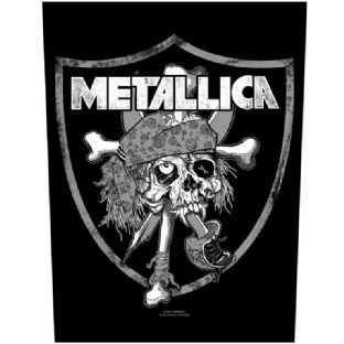 Metallica = Large Sew On Patch